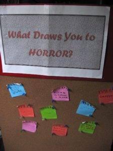 Bay Area Book Fair Horror Board
