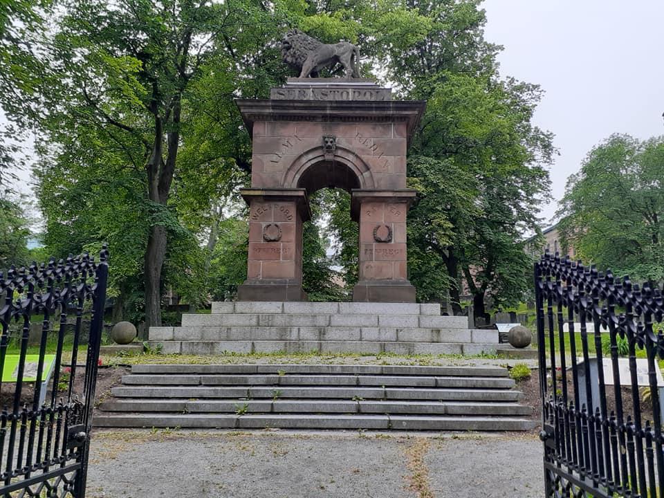 Cemetery Gate, Barrington Street, Halifax, Nova Scotia