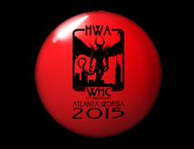 World Horror Con 2015 Buttons & Banners