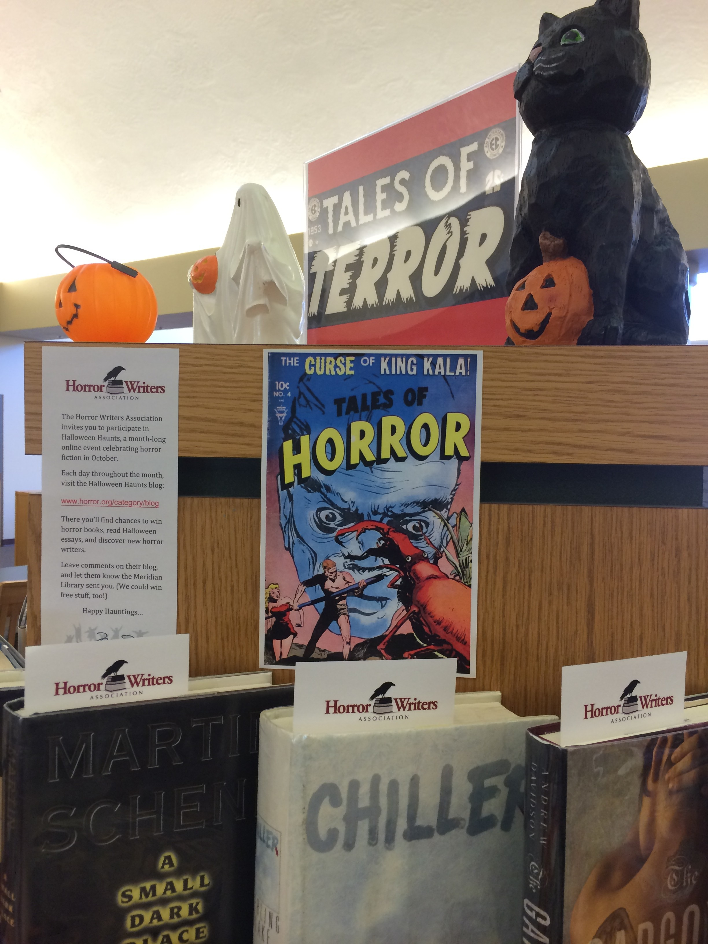 Meridian Library 1 - Horror Writers Association BlogHorror Writers