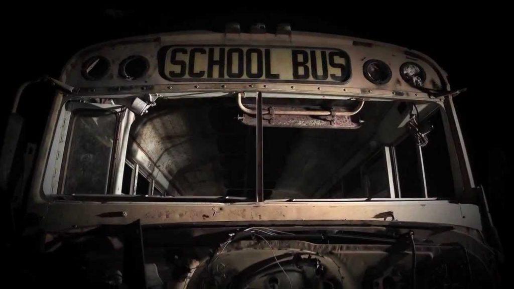 Scary school bus