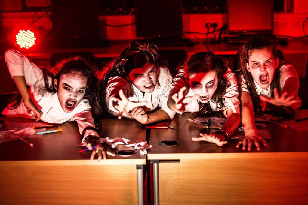 Scary school children