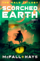 Scorched Earth: Book 2 in the Halo Trilogy